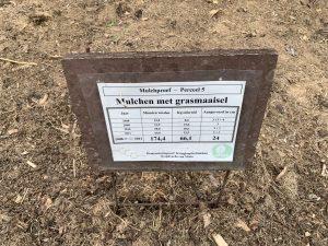 recortes de mulch