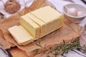 composición de mantequilla-margarina