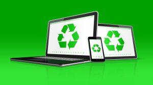 reciclaje de residuos digitales