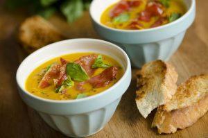 sopa de melón crudo